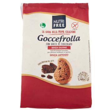 Nutrifree Goccefrolla Snack ( shorbread met chocoladedruppels) 400 g