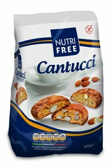Nutrifree Cantucci (amandelkoekjes ) 240g