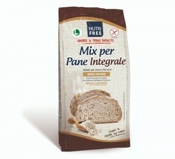 Nutrifree broodmix volkoren ( mix per pane integrale ) 1 kg
