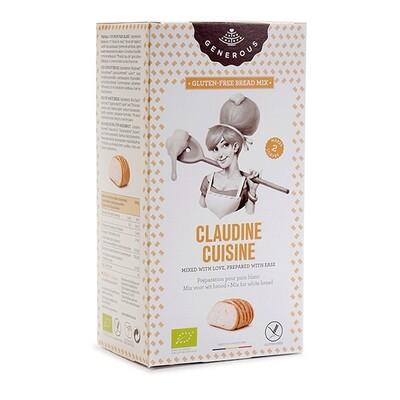 Claudine Cuisine Generous Wit broodmix 500 g
