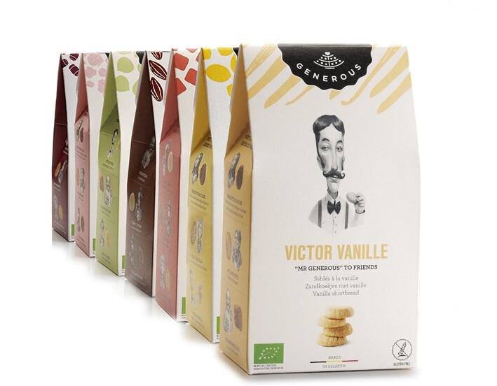 Victor Vanille Generous 120 g