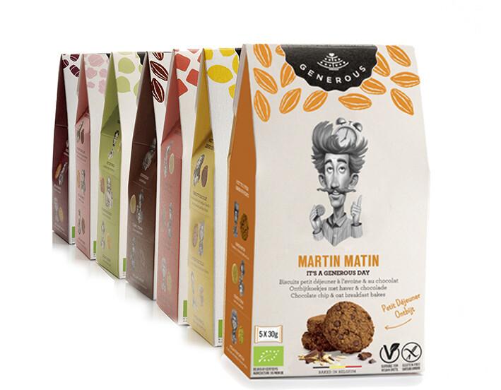 Martin Matin Generous ( 5 x 30g) 150 g