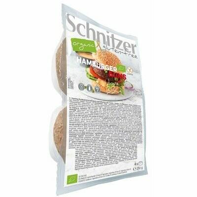 Schnitzer Hamburger Broodjes ( 4 stuks) NIEUWE VERPAKKING !