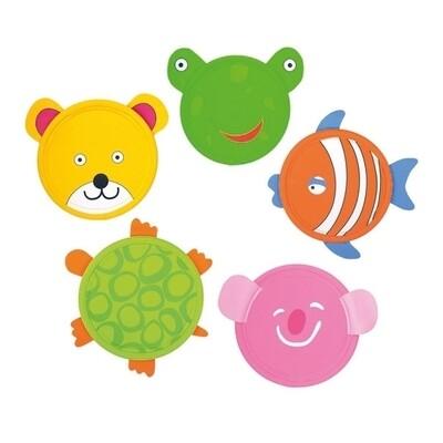 Kinderfrisbee dier BS Toys