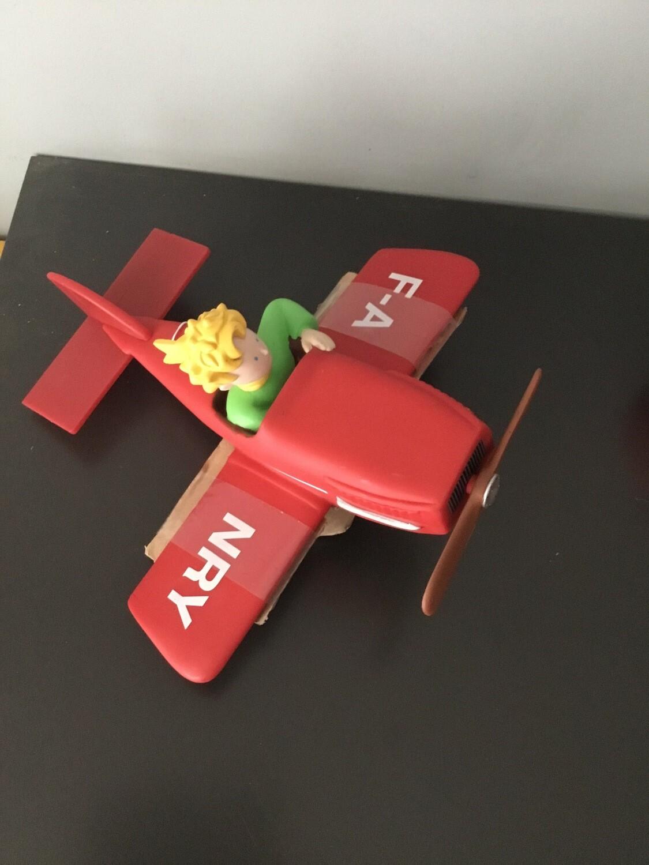 Plastoy Spaarpot kleine prins vliegtuig