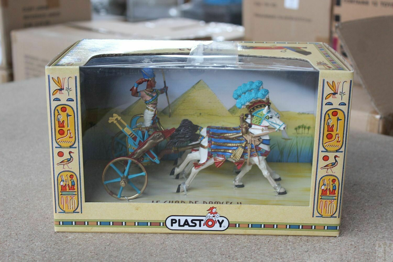 Koets Ramses 2 Egypte - Plastoy