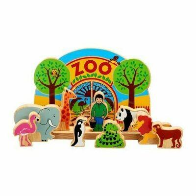 Houten Boerderij of Zoo Handgemaakt Fair Trade