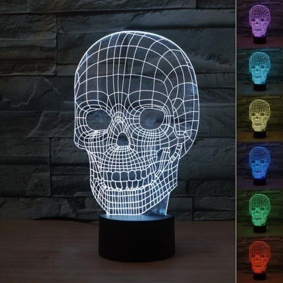 3D licht verschillende vormen - geeft verschillende kleuren licht