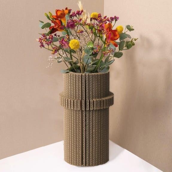 Originele Vazen uit karton 100% recyclage