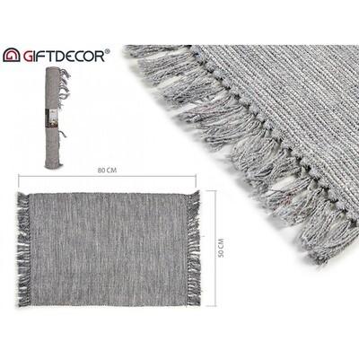 Tapijt/Vloerkleed/Mat lichtblauw grijs - 80*50cm