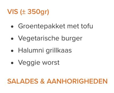 Barbecue 'Veggie' 1