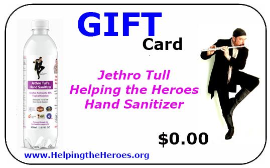 Jethro Tull Sanitizer Gift Card