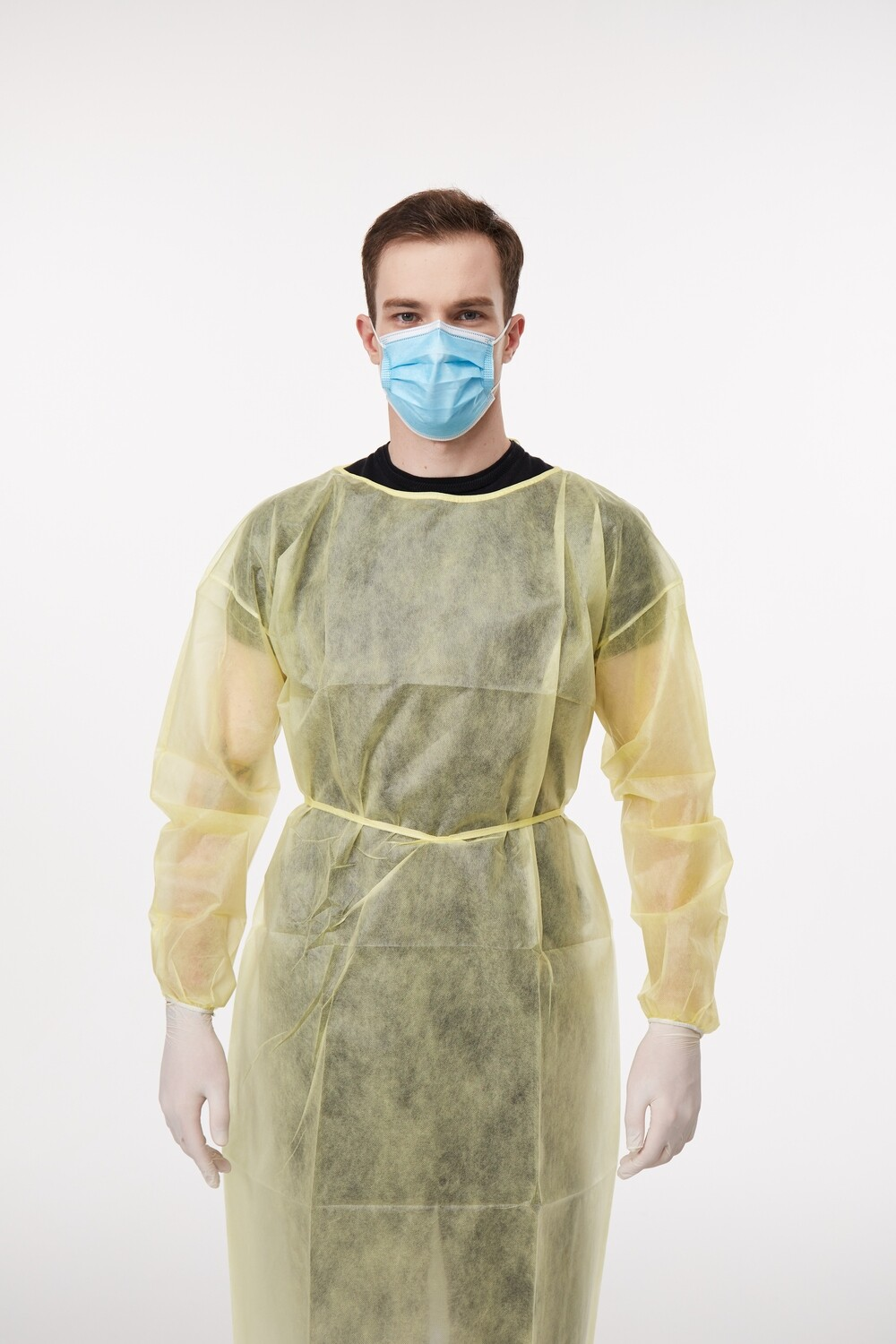 Disposable Isolation Gown PP+ABS - 100 gown case