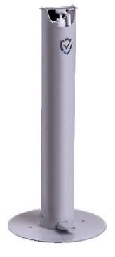 Designed for Schools! K-12 Universal Hand Sanitizer Floor Dispenser