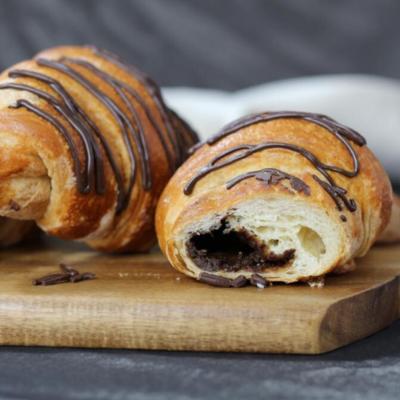 Croissant de Chocolate caja por 4
