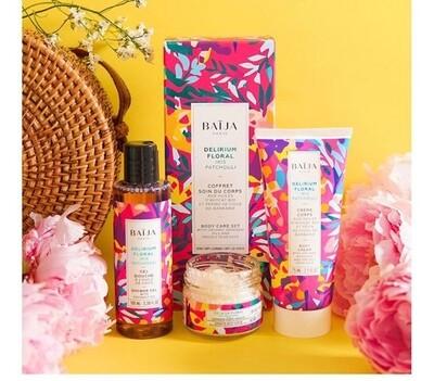 Delirium Floral Gift box (shower gel, scrub & body cream)