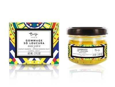 Passion fruit & citroen BODY SCRUB (klein 82GR)