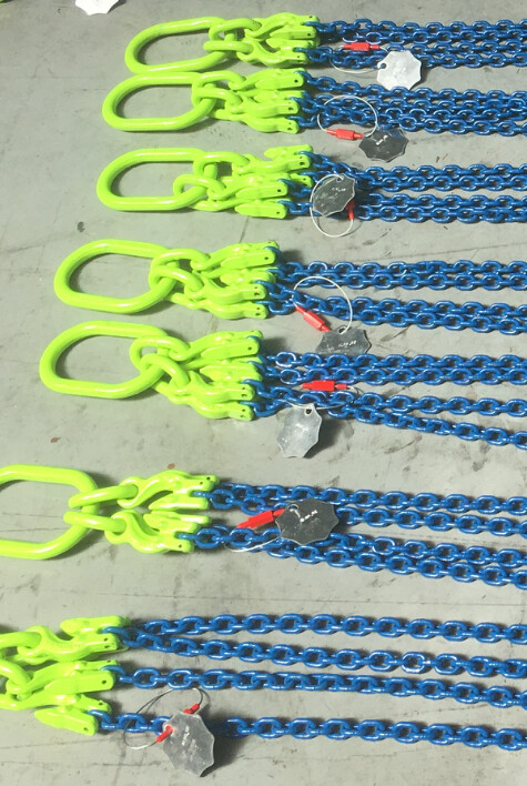 4 Sprong met klephaken en inkorthaken - grade 100