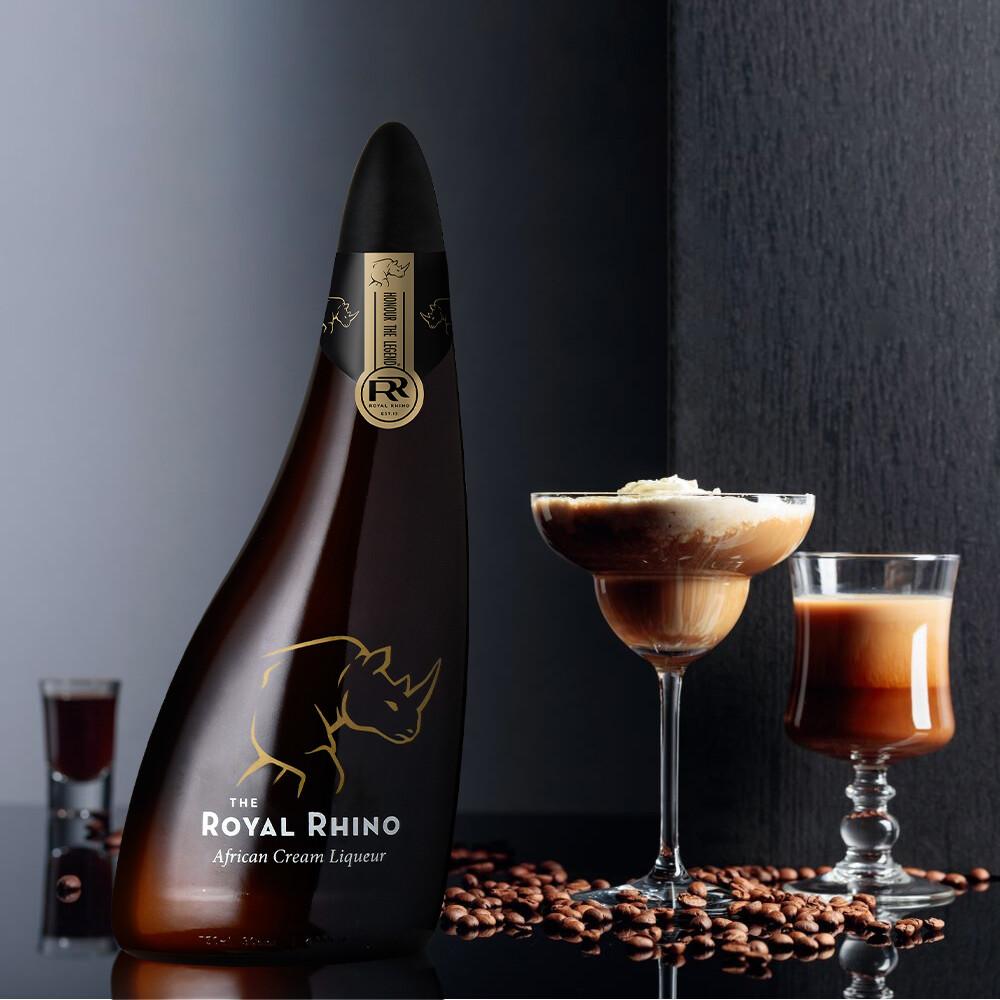 The Royal Rhino African Coffee Cream Liqueur