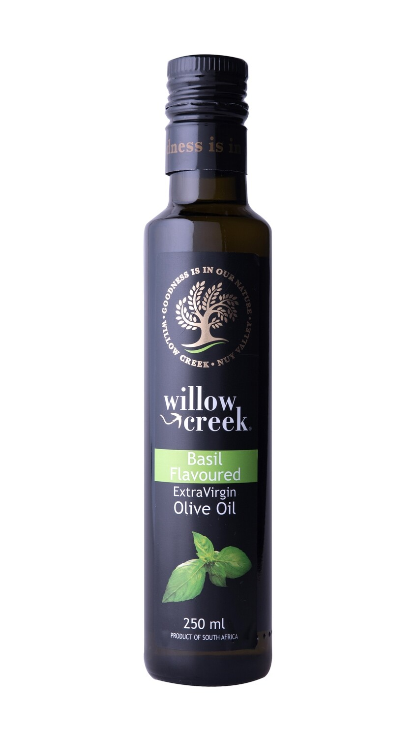 Willow Creek flavoured Basil infused EVOO 250 ml