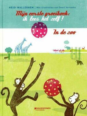 Mijn eerste zoogroeiboek : ik lees het zelf ! - Heidi Walleghem