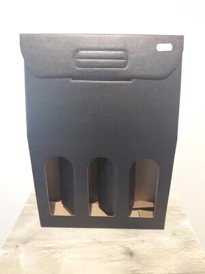 Gift Box Black 3 bottles