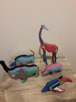 Flipflop Animals by Davis Ndungu
