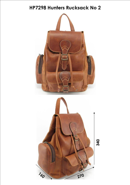 OOA : Leather Hunters Rucksack
