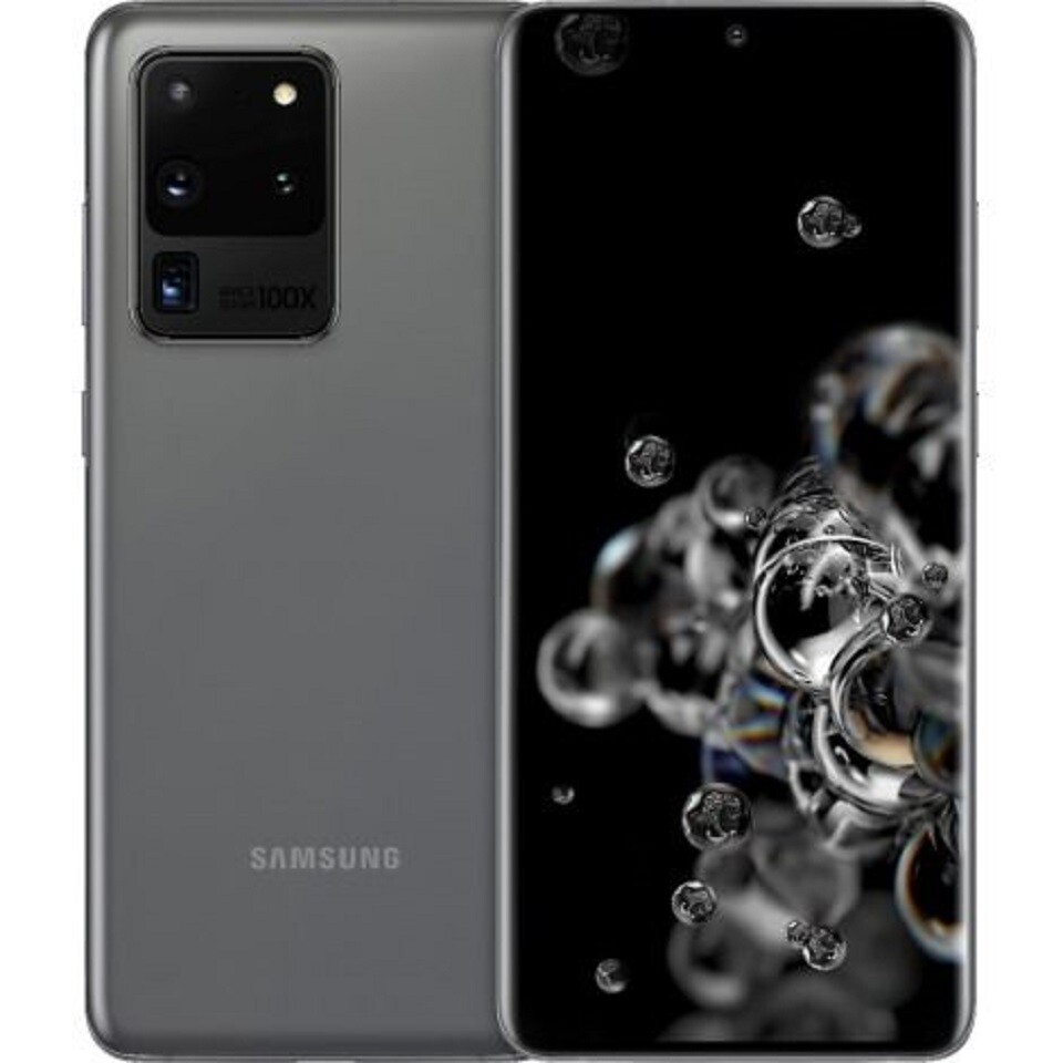 Samsung Galaxy S20 Ultra 5G, SM-G988N   256GB Unlocked (Cosmic Gray)