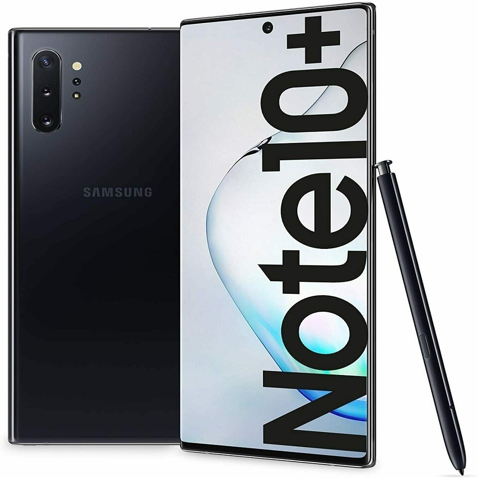 Samsung Galaxy Note 10+ Plus 5G, SM-N976N | 512GB Unlocked (Aura Black)