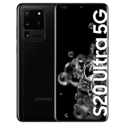 Samsung Galaxy S20 Ultra 5G, SM-G988N | 256GB Unlocked (Cosmic Black)