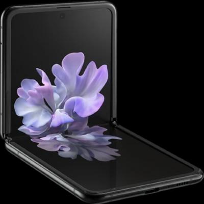 Samsung Galaxy Z Flip 4G LTE, SM-F700N | 256GB Unlocked (Mirror Black)