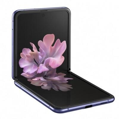 Samsung Galaxy Z Flip 4G LTE, SM-F700N | 256GB Unlocked (Mirror Purple)