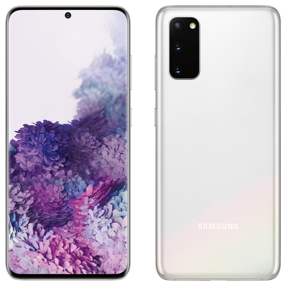 Samsung Galaxy S20+ Plus 5G, SM-G986N | 256GB Unlocked (Cosmic White)