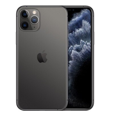 Apple iPhone 11 Pro Max, A2218   256GB Unlocked (Gray)