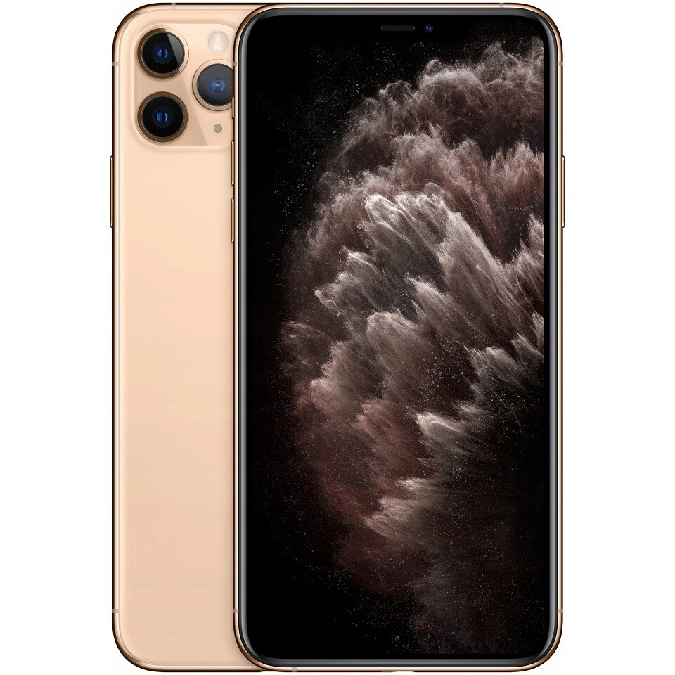 Apple iPhone 11 Pro Max, A2218 | 64GB Unlocked (Gold)