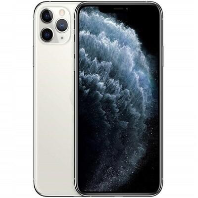 Apple iPhone 11 Pro, A2215   64GB, Unlocked (Silver)