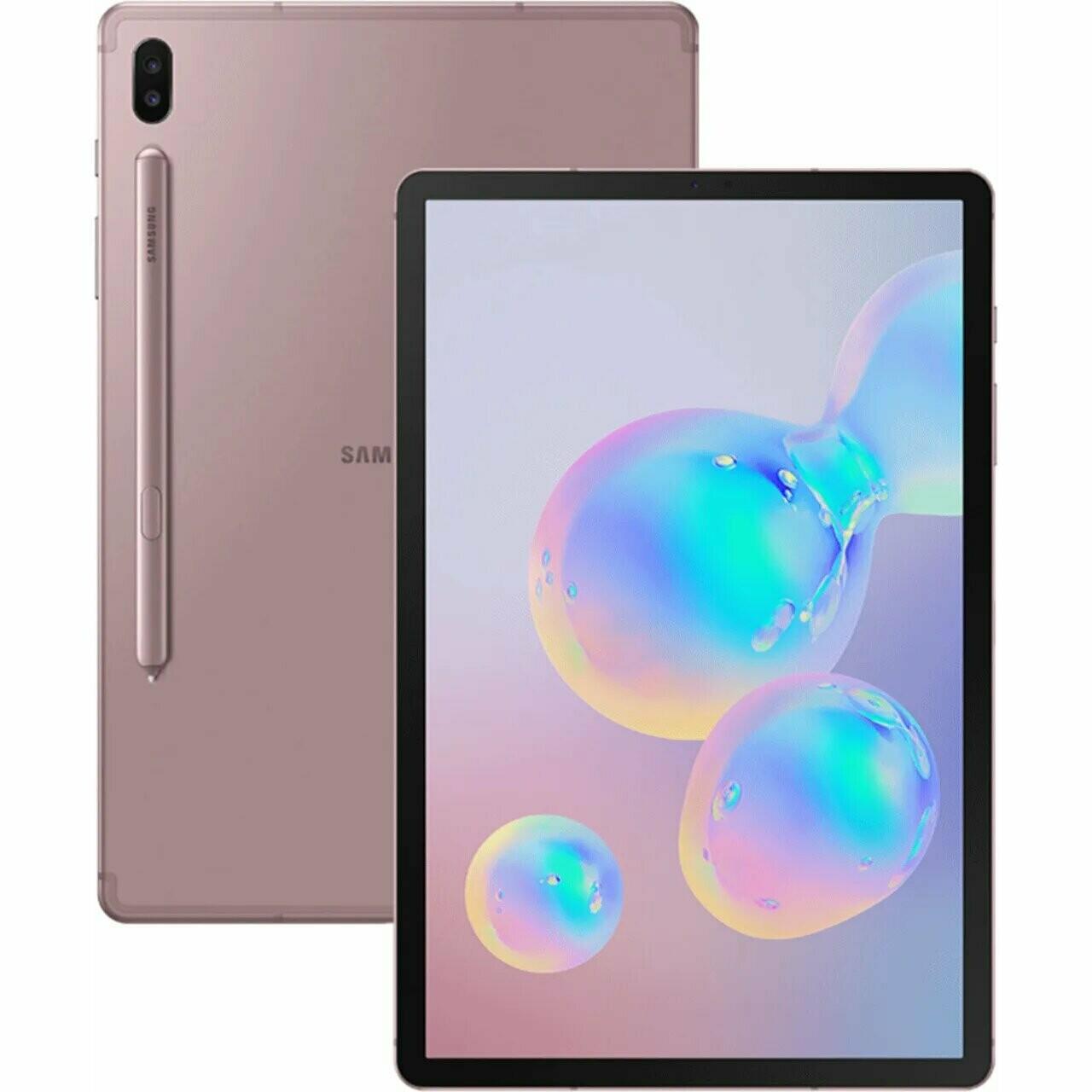 "Samsung Galaxy Tab S6, LTE 10.5"" SM-T865N | 256GB Unlocked (Rose Blush)"