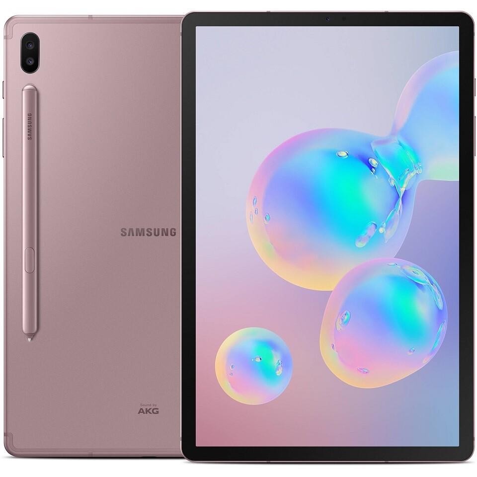 "Samsung Galaxy Tab S6, LTE 10.5"" SM-T865N | 128GB Unlocked (Rose Blush)"