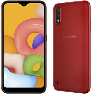 Samsung Galaxy A01 (2+16GB) (RED)