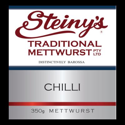 CHILLI METTWURST 350G
