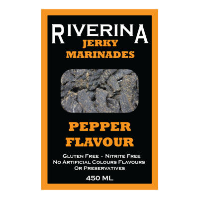 PEPPER JERKY MARINADE