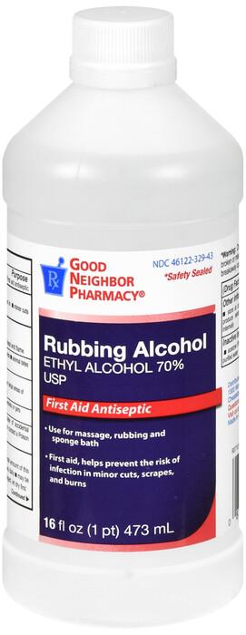 Rubbing Alcohol 16 oz