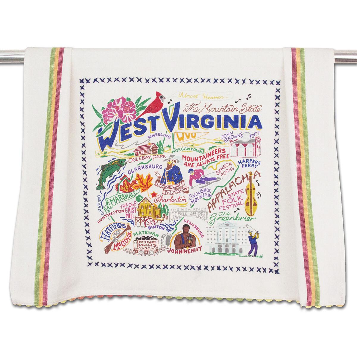 Catstudio WV Dish Towel