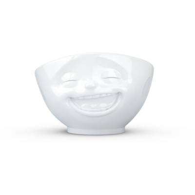 Tassen Laughing Bowl White 500ml