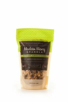 Hudson Henry Granola Cashews & Coconut, 12 Oz.