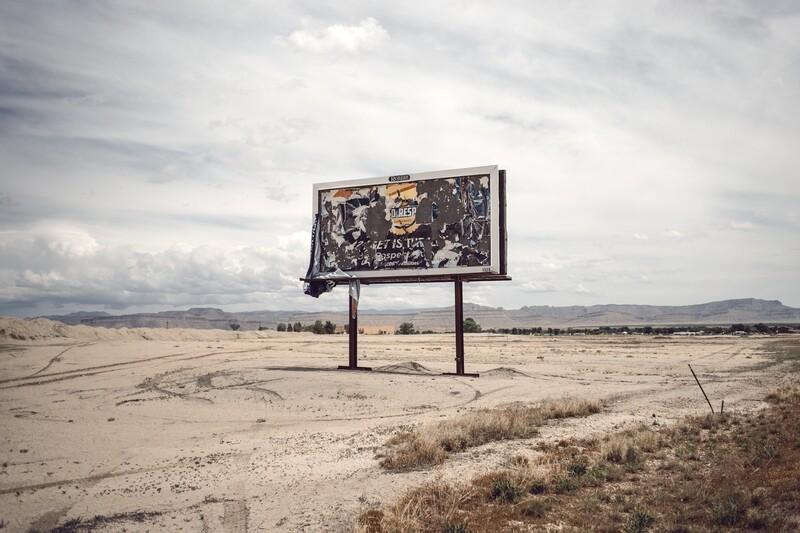 """billboard"" fine art photographic print"
