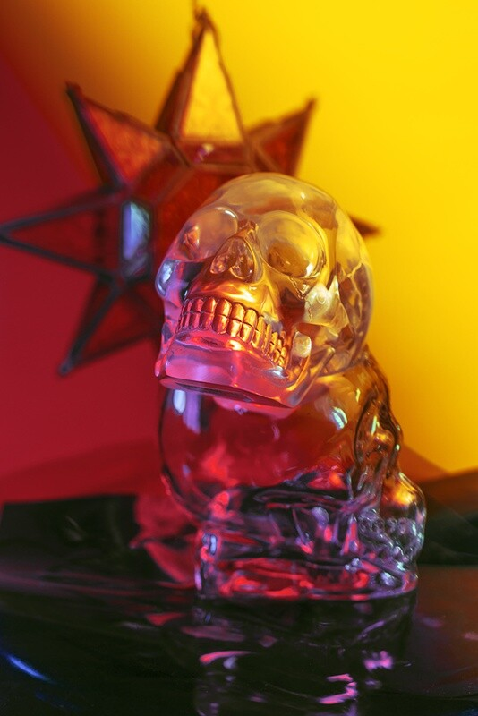 """crystal skull #1"" fine art photographic print"