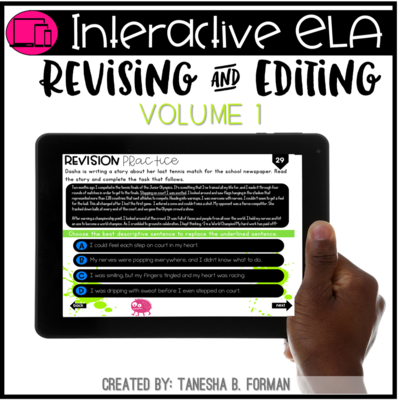 Interactive Revising and Editing Practice