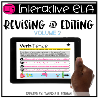 Interactive Revising and Editing practice  - VOLUME 2